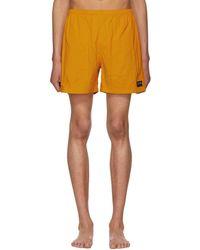 Noah - Orange Swim Shorts - Lyst