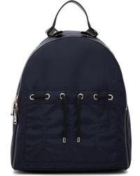 Jil Sander - Blue Nylon Backpack - Lyst