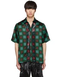 Dries Van Noten - Multicolour Sequin Clasen Shirt - Lyst