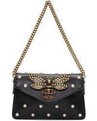 Gucci - Black Broadway Clutch Bag - Lyst