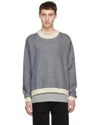 Stephan Schneider - Blue Disguise Crewneck Sweater - Lyst