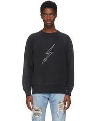Givenchy | Black Lightning World Tour Vintage Sweatshirt | Lyst