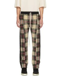 Fear Of God - Multicolour Plaid Baggy Lounge Trousers - Lyst