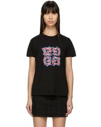Givenchy - Black 4g Baby T-shirt - Lyst