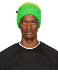 PS by Paul Smith - Green Neon Beanie - Lyst