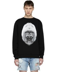 Marcelo Burlon - Black Gorilla Sweatshirt - Lyst