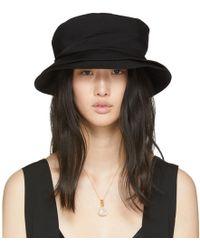 Y's Yohji Yamamoto - Black Wide Brim Hat - Lyst