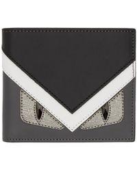 Fendi - Multicolor Bag Bugs Wallet - Lyst