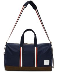 Thom Browne - Navy Unstructured Holdall Duffle Bag - Lyst
