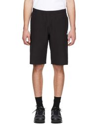 Champion - Black Logo Bermuda Shorts - Lyst