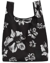 Neil Barrett - Black And White Flower Tote - Lyst