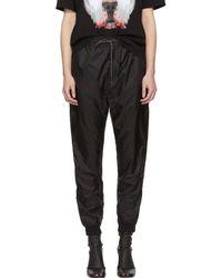 Marcelo Burlon - Black Double Wing Lounge Trousers - Lyst
