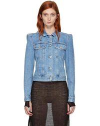 Unravel - Blue Denim Classic Jacket - Lyst