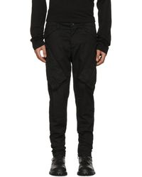 Julius - Black Vertical Gas Mask Cargo Pants - Lyst