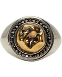 Alexander McQueen - Gold Tooth Ring - Lyst