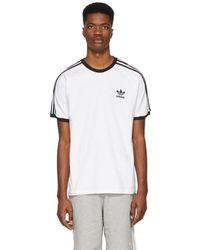 adidas Originals - 3-stripes T-shirt - Lyst