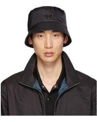 Prada - Black Rain Hat - Lyst