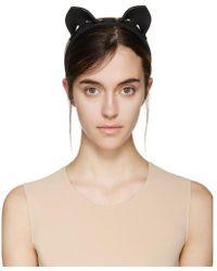 Fleet Ilya - Black Cat Ear Headband - Lyst