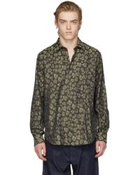 Cobra S.C. - Ssense Exclusive Brown Leopard Model One Shirt - Lyst