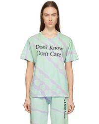 Ashley Williams - Green Tie-dye Dont Know T-shirt - Lyst