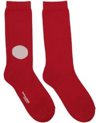 Blue Blue Japan - Red Japan Flag Socks - Lyst