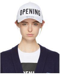Opening Ceremony - White New Era Edition Satin Stitch Logo Cap - Lyst