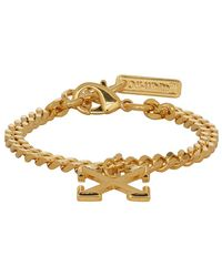 Off-White c/o Virgil Abloh Ssense Exclusive Gold Arrow Bracelet - Metallic
