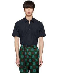 Dries Van Noten - Navy Citny Shirt - Lyst