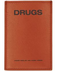 Raf Simons - Orange Drugs Card Holder - Lyst