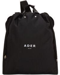 ADER error - Black Suitcase Backpack - Lyst