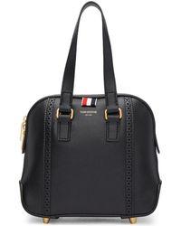 Thom Browne - Black Miss Thom Brogue Mini Duffle Bag - Lyst