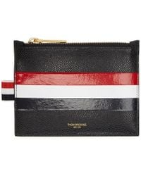 Thom Browne - Black Small Coin Pouch - Lyst