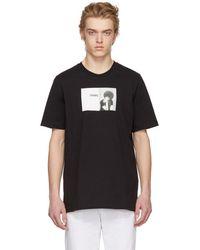 OAMC - Black Angela Davis T-shirt - Lyst