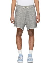 DSquared² - Grey Super Over Fit Shorts - Lyst