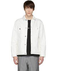 Etudes Studio - White Denim Guest Jacket - Lyst