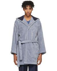 Fendi - Blue Bag Bugs Bath Robe - Lyst