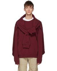 Y. Project - Burgundy Four Sleeves Sweatshirt - Lyst