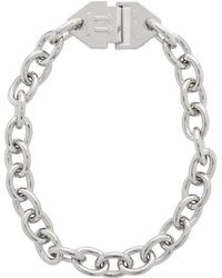 Off-White c/o Virgil Abloh - Silver Arrows Necklace - Lyst