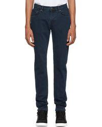 Burberry - Indigo Slim Fit Jeans - Lyst