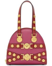 Versace - Pink And Red Small Tribute Bag - Lyst