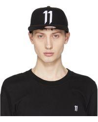 Boris Bidjan Saberi 11 - Black And White New Era Edition Logo Cap - Lyst