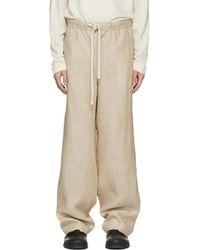 Loewe - Beige Pyjama Trousers - Lyst