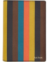 Paul Smith - Multicolour Striped Passport Holder - Lyst