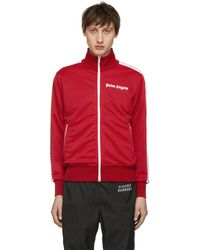 88d3e2374216b Palm Angels Classic Logo Track Jacket in Black for Men - Save 33% - Lyst