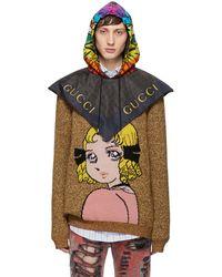 Gucci - Black Eagle Hood - Lyst
