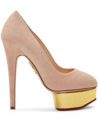 Charlotte Olympia - Pink Dolly Platform Heels - Lyst