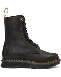 Yohji Yamamoto - Black Dr. Martens Edition Oridance Yy Boots - Lyst