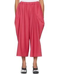 Comme des Garçons - Pink Protrusions Trousers - Lyst