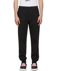 Alexander McQueen - Black Sport Jogger Lounge Trousers - Lyst