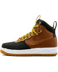 aa7fddfb7cbea Nike Lunar Force 1 Duckboot in Black for Men - Lyst